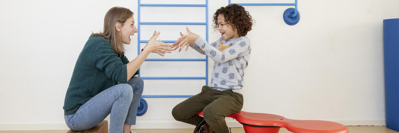 kinderoefentherapie Dolo motorische ontwikkeling